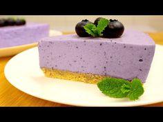 Nabídka Dort z borůvky bez PEKAŘSTVÍ - YouTube Cold Desserts, Mousse, Blueberry, I Am Awesome, Cheesecake, Dessert Recipes, Cooking Recipes, Pudding, Baking