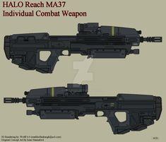 Halo Reach MA37 ICW by Wolff60