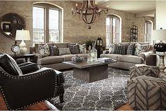 The Gypsum Sofa from Ashley Furniture HomeStore (AFHS.com).