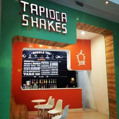 Tapioca Shakes bar, Medellín   Colombia hotels and restaurants branding