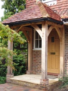 Contemporary or traditional, a porch adds character to a house as well as being shelter from the elements and a place to store your muddy wellies. Here are just a few examples of some or our porches. No obligation quote information to Steve Huxley.