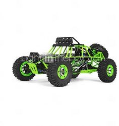 Buggy WLToys RC 1:12 Brush Electric RC Car 2.4G Green Ready-To-GoRemote Control #WLToys