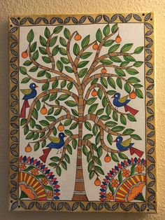 Pichwai Paintings, Indian Art Paintings, Kerala Mural Painting, Madhubani Painting, Kalamkari Painting, Oil Pastel Art, Madhubani Art, Indian Folk Art, Cool Art Drawings