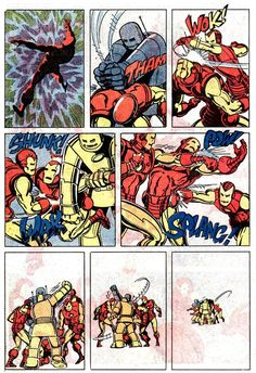 1982 - Invincible Iron Man #159 by Roger McKenzie and Paul Smith