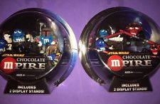 2 STAR WARS CHOCOLATE EMPIRE W/Display Stands By HASBRO (2005 )