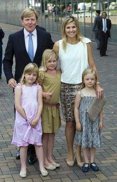 Royal family in summertime