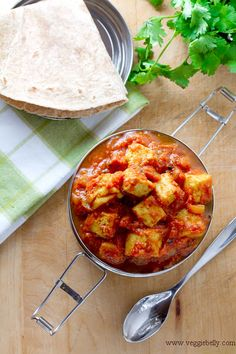 Paneer and Tomato Curry
