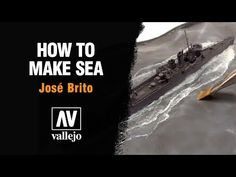 Video about how to make sea on dioramas with vallejo water effects colors by José Brito. Modeling Techniques, Modeling Tips, Water Effect, Submarines, Model Ships, Model Building, Ocean Waves, Model Trains, Plastic Models