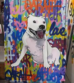 Filha eternizada pelo artista de street art Fabio Polesi Scooby Doo, Snoopy, Photo And Video, Lifestyle, Videos, Dogs, Fictional Characters, Instagram, Daughter