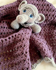 This cute fellow will definitely get lots of hugs and attention. Make your elephant blanket using worsted weight yarn and a size G and I crochet hook. Pattern includes detailed instructions (in English), along with a materials list and notes and tips to help you finish your blanket. Finished blanket is approx. 32 inches x 27 inches. You will need to know basic crochet stitches to finish your blanket. Skill level = intermediate, you will need to know how to crochet in the round.