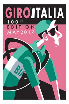 Veloist · Introducing my Giro d'Italia Cycling Art Print