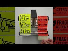 Etikettenabroller // label dispenser - YouTube auf Bauer Profiltechnik Label, Youtube, Mechanical Engineering, Youtubers, Youtube Movies