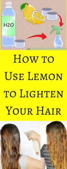-lemon-lighten-hair/