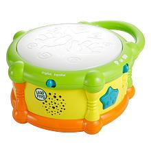 LeapFrog Drum - bilingual, so boys can hear Spanish! They love the music and banging on it to see it light up.