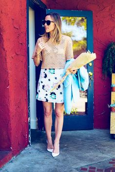 How to Rock Crop Tops: Lessons From Our Favorite Bloggers | Divine Caroline