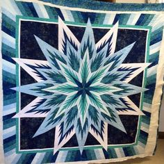 Feathered Star, Quiltworx.com, Made by Ruby, Quilted by Karrie Ann's Custom Quilting