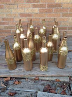 glitter wine bottle - Bing Images