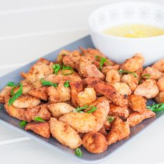 Chicken Poppers to die for – with mayo/mustard sauce, perfect snack or appetizer.