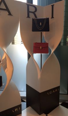 #Bvlgari #BagsDisplay at #Bloomingdales #DubaiMall 2014