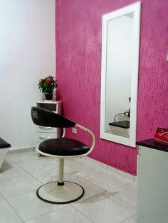 decoração de salão de beleza pequeno rosa - Pesquisa Google