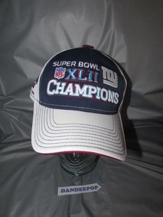 ea1f12ec220 NFL New York Giants Super Bowl Champions XLII Reebok Locker Room Sideline  Hat  NewYorkGiants  NFL  giants  football  superbowlxlll  hat  sidelinehat   reebok ...