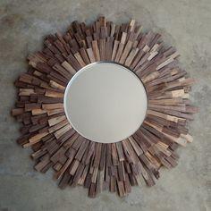 Miroir soleil oeil de sorci re mod le chaty an 70 ebay mirrors miroirs - Decoration murale miroir ...