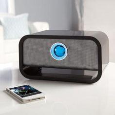 Big Blue Wireless Bluetooth Speaker at Brookstone—Buy Now!