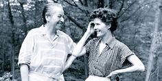 Gabriela Mistral y Doris Dana