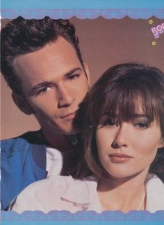 Dylan & Brenda I want Luke perry Beverly Hills 90210, The Beverly, Serie Charmed, Tv Show Couples, Jason Priestley, Shannen Doherty, American Teen, Beautiful Soul, Best Shows Ever