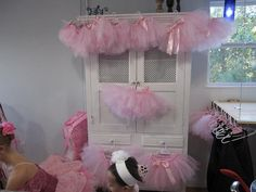 Birthday Party Favor Tutu Skirts Custom made to fit your colors and party theme. Perfect for princess, ballerina and dance theme parties and more. Each tutu skirt is custom made for the size of your guest or made in a style that will fit a variety of ages. This set is bargain wholesale priced at $ 8 each for full fluffy high quality skirts. We ship fast and we have over 25 colors to choose from and there is no limit to color selection in one tutu. Order from our storenvy store