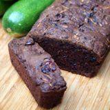 Vegan Chocolate Cranberry Zucchini Bread Recipe (replace the Canola Oil and White Sugar)