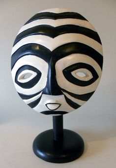 My great-grandmother gave me a similar mask from her sister's tour of Africa.