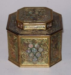Tiffany abalone and gold inkwell, would be on my desk in my dream home