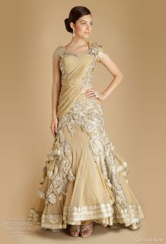 gaurav gupta anarkali wedding dress couture rani. Gorgeous!!