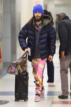JARED LETO  30.03.2018 NEW YORK 30 Sec To Mars, Vans Checkerboard, Alessandro Michele, Shannon Leto, Yesterday And Today, 30 Seconds, Jared Leto, Fashion Brand, Winter Jackets