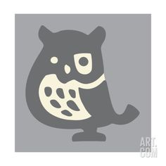 Owl Print by Pop Ink - CSA Images at Art.co.uk