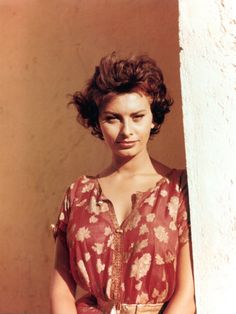 I will always think Sophia Loren was one of the most beautiful women to ever live.