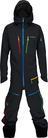 Norrona Lofoten One Piece Gore Tex Suit (with pop multicolour zips!) £999.00