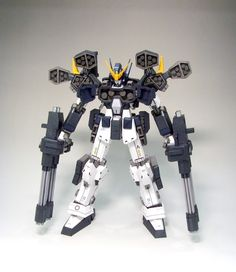 GUNDAM GUY: Gundam Papercraft: XXXG-01H2 Gundam Heavyarms Custom