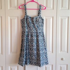 NWT Loft Sun Dress Brand new!! Pretty sun dress, perfect to pair with wedges and a floppy hat LOFT Dresses