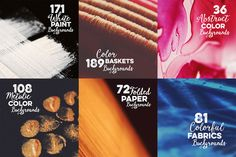 SALE: 657 Abstract Backgrounds by Cruzine on Creative Market