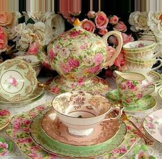 The Vintage Table Perth Gallery. Luxury vintage fine bone china tea sets, dinnerware and silver for high teas, weddings, bridal and baby showers for hire. Vintage Dishes, Vintage Table, Vintage China, Vintage Tea, Antique Dishes, Antique China, China Tea Sets, Teapots And Cups, Tea Service
