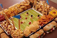 Football snacks recipes i must try! Dinner Recipes For Kids, Healthy Dinner Recipes, Kids Meals, Snack Recipes, Appetizer Recipes, Yummy Treats, Yummy Food, Calcium Rich Foods, Football Snacks