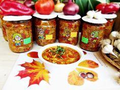 tocana-de-fasole-verde-pentru-iarna-8 Canning Recipes, Fresh Rolls, Salsa, Food And Drink, Healthy Recipes, Healthy Food, Traditional, Ethnic Recipes, Saveur