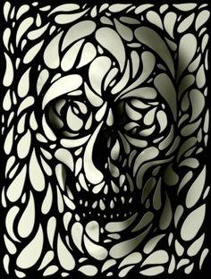#Skull art