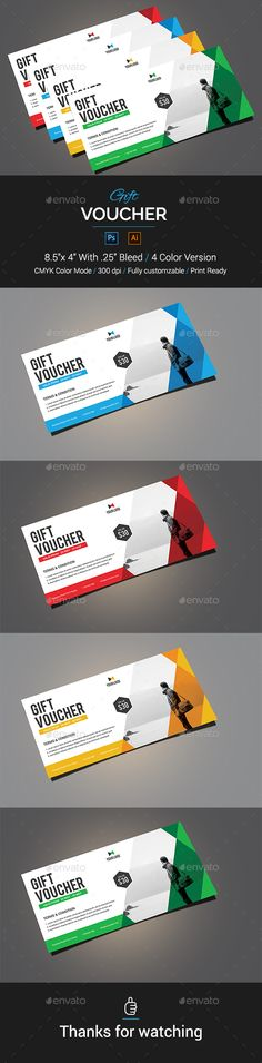 #Gift #Voucher - Loyalty Cards Cards & Invites Download here: https://graphicriver.net/item/gift-voucher/19503092?ref=alena994