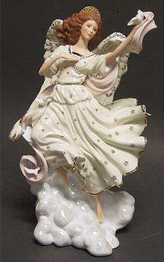 Lenox, Millennium Angel Figurine at Replacements, Ltd