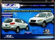 MANUAL DE TALLER Y REPARACION PROFESIONAL HYUNDAI SANTA-FE 2007-2012 Car, Santa Fe, Saints, Atelier, Automobile, Vehicles, Cars, Autos