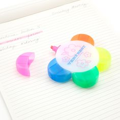 A five in one flower-shaped highlighter...if it was scented my life would be complete.
