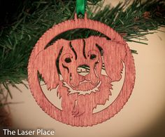 New to TheLaserPlace on Etsy: I Love My Brittany Spaniel; Spaniel Dogs Laser cut ornament (5.50 USD)